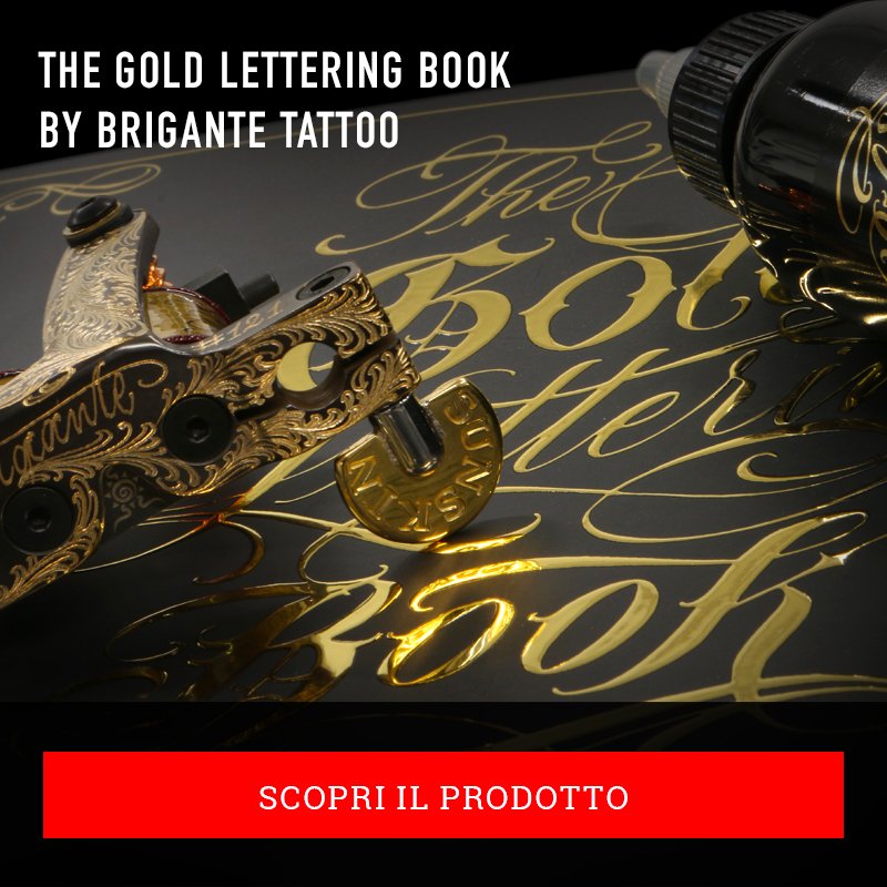 The Gold Lettering Book