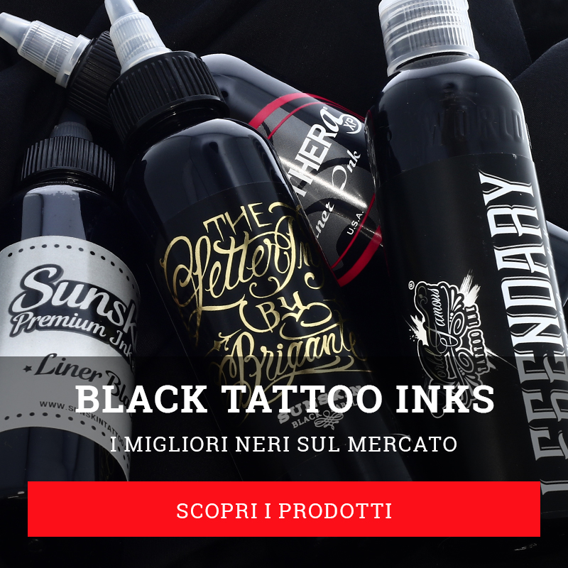 black tattoo ink